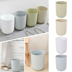 8.5L/10L Round Trash Can Lidless Wastebasket Kitchen Garbage