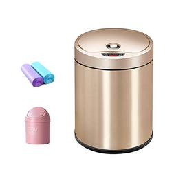 Trash Can 8 Liter /2gallon Round Stainless Steel Kitchen Ste