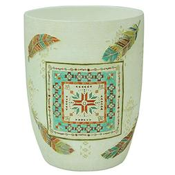 Bacova Guild Southwest Boots Garbage Can Wastebasket
