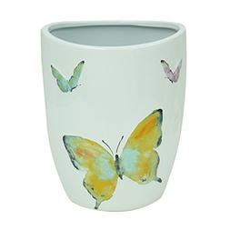 89503 watercolor garden embossed stoneware