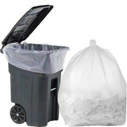 95 Gallon Trash Bags Clear Plastic Garbage Can Bag Kitchen H