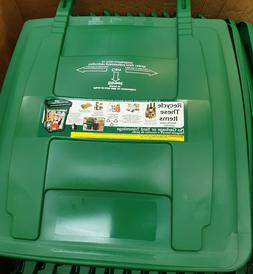 96 gallon garbage can recycle lid top