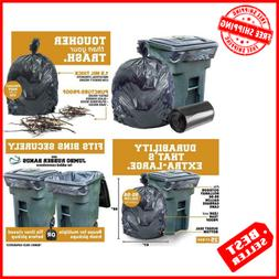 96 Gallon Trash Can Liners XL Garbage Bags Large Thick Heavy