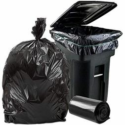 96 Gallon Wheeled Trash Can Liners Garbage Container Outdoor