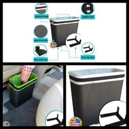 Carbage Can Premium Car Trash Can w/ Floor Mat Clip and Bag