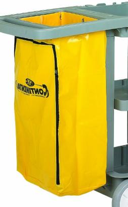 Continental 188YW Yellow Zippered Vinyl Replacement Bag for