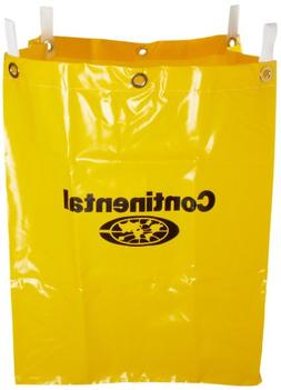 Continental 276 Yellow Vinyl Replacement Bag for 275 Cart