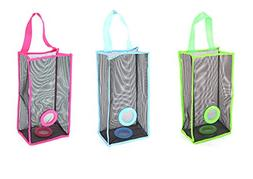 Dispenser Hanging Mesh Plastic Grocery Storage Garbage Organ