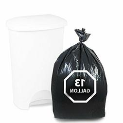 Dualplex Tall Kitchen Trash Bags 13 Gallon 200 Count Black G