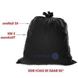 Hardex Puncture Resistant Heavy Duty Contractor Trash Bag, 4