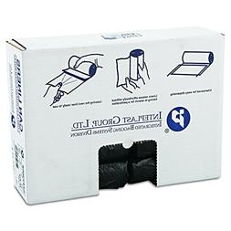 """Inteplast Group IBS S243306K HDPE Can Liner, 16 Gallon, 24"""""""