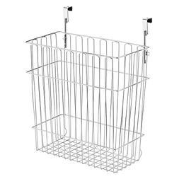 InterDesign Classico Over Cabinet Wastebasket or Storage Org
