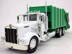 Kenworth W900 Garbage Truck Diecast Metal 1/32 Scale Model