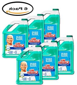 PACK OF 6 - Mr. Clean Meadows & Rain Multi-Surface Cleaner w