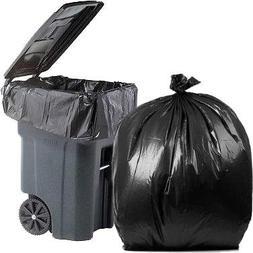 PlasticMill 100 Gallon, Black, 3 Mil, 67x79, 1 Bag , Ultra H