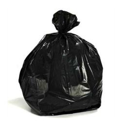 Plasticplace Black Garbage Bags 33x39 33 Gallon 100/Case 1.7