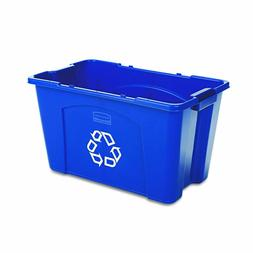 RCP571473BE - Rubbermaid Stackable Recycling Box