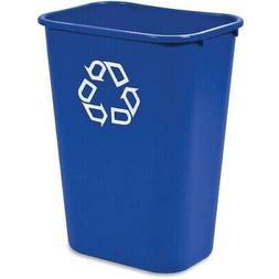 Rubbermaid Commercial 295773BE Large Deskside Recycle Contai
