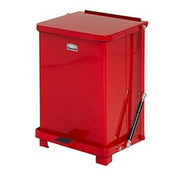 Rubbermaid Commercial FGQST7EPLRD The Silent Defenders Steel