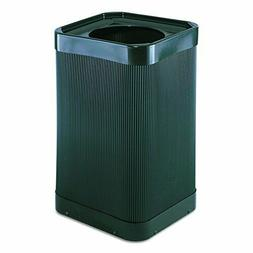 Safco Products At-Your-Disposal Trash Can 9790BL, Black, Imp