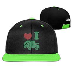 SunRuMo Love Trash Garbage Adjustable Unisex Hip Hop Hat Sty