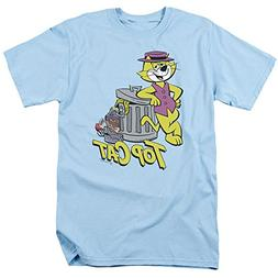 Top Cat Garbage Can Unisex Adult T Shirt for Men and Women