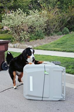 Trash Buddy - Dog Proof Trash Can Lid - The Easy-Install Sol