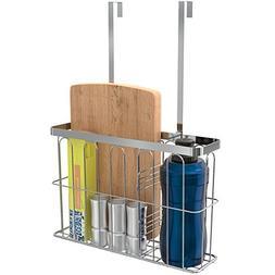 ULFR Over the Cabinet Door Kitchen Storage Organizer Basket,