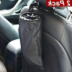 Vmotor Car Trash Bags, Car Garbage Can Container Washable Le