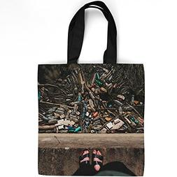 Westlake Art - Feet Plastic - Tote Bag - Fashionable Picture