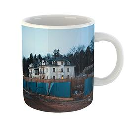 Westlake Art - House Building - 11oz Coffee Cup Mug - Modern