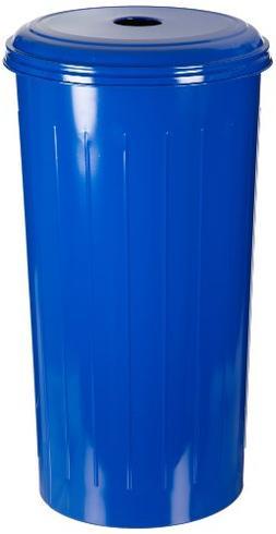 Witt Industries 10/1DTDB Steel 20-Gallon Round Top Basket, L