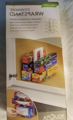 YouCopia StoreMore Adjustable WrapStand Kitchen Wrap Organiz