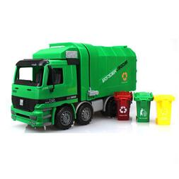 Adjustable Garbage Truck Toy Garbage Car Model With Trash Ca