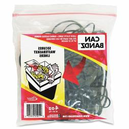 Alliance Rubber Can Bands 7-Inchx.12-Inch 50 Bands Black 078