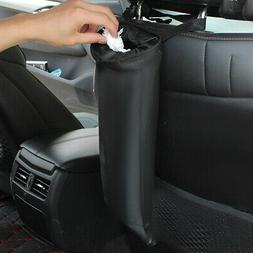 Auto Car Seat Back Trash Bag Garbage Can Headrest Hanging St
