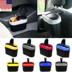 Auto Vehicle Car Mini Trash Rubbish Bin Office Home Can Garb