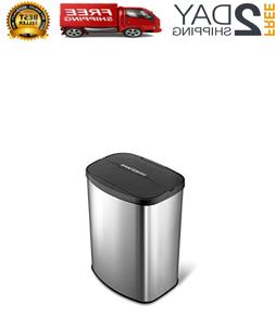 automatic garbage can motion sensor stainless steel