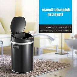 Automatic Sensor Touchless Trash Can 10L Stainless Steel Gar