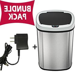 SensorCan Automatic Touchless Sensor Trash Can with AC Adapt