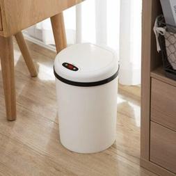 Automtic Garbage Can Motion Sensor Trash Bin Touch Free Open