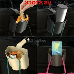 Autos Basket Trash Bag Car Can Litter Garbage Leak Proof Bin