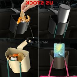 Autos Basket Trash Bag Car Can Litter Garbage Leak Proof Bin