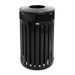 Rubbermaid Commercial Avenue Small Open Top Waste Receptacle