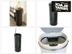 Awesome Trash Can Sensor 13 Gallon With Lid Kitchen Automati