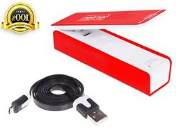 Premium Bag Sealer and Food Saver – Rechargeable USB Cable