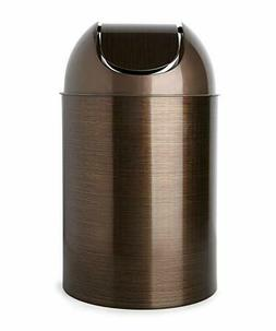 Wastebasket With Lid Bathroom Trash Can Small  Pail Bin Rece
