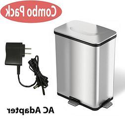 battery sensor stainless steel trash
