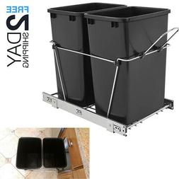 Pull Out Trash Garbage Can Waste Container Bin Rev-A-Shelf 3