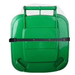 Bin Strap Garbage lock Trash Can Lid Security System One Pie